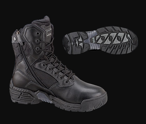 Magnum Boot 5198 Mens - Stealth Force 8.0 Side Zip