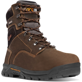 "CRAFTER 8"" BROWN 600G Non-Metallic Toe - 12447"