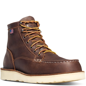 "BULL RUN MOC TOE 6"" BROWN - 15563"