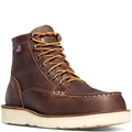 "BULL RUN MOC TOE 6"" BROWN STEEL TOE - 15564"