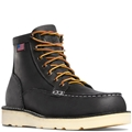 "BULL RUN MOC TOE 6"" BLACK STEEL TOE - 15569"