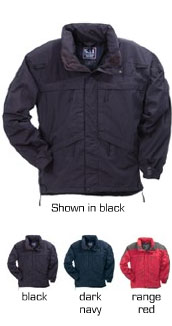 5.11 Tactical Jacket - Mens 48001 -  3-in-1 Jacket - INCLUDES FREE SHIPPING